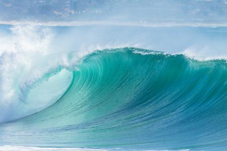 breaking: Ocean Wave  hollow crashing curling breaking Sea Water