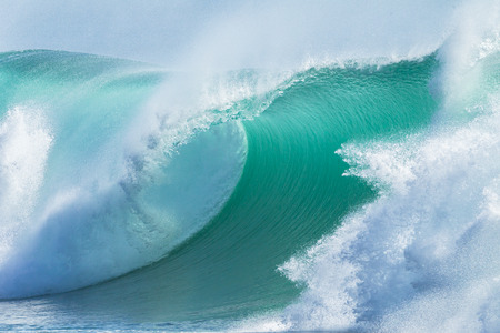 swells: Ocean Wave  hollow crashing curling breaking Sea Water