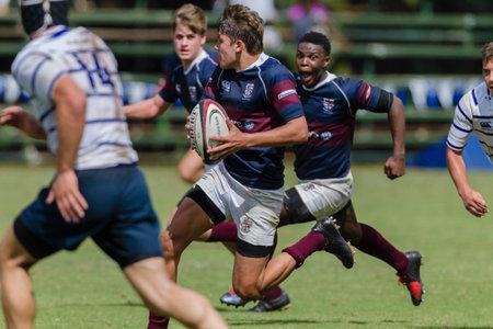 high schools: Rugby Festival Escuelas Secundarias acci�n primero equipo Editorial