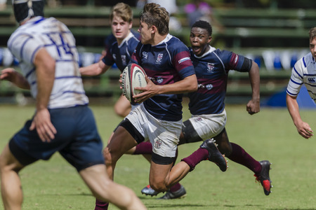 Rugby Festival High Schools 1st team action