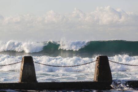 Tidal Pool ocean waves landscape