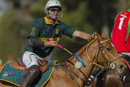 graham: Polocrosse sport world-cup South Africa Graham McLarty play action at Shongweni equestrian fields