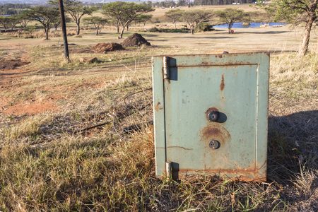 Security safe outdoors safe rural countryside