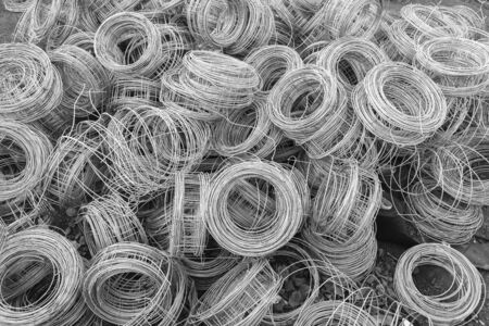 insertion: Wire rolls construction building raw materials insertion between for brick block walls