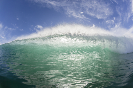 encounter: Wave crashing hollow face to face  swimming ocean encounter.