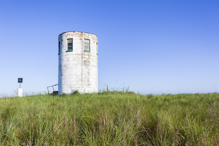 hilltop: Lookout tower structure hilltop rural farming countryside
