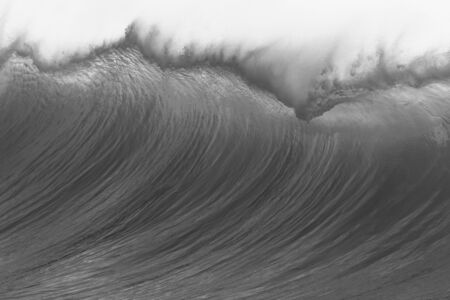 swells: Ocean wave swirl. Stock Photo
