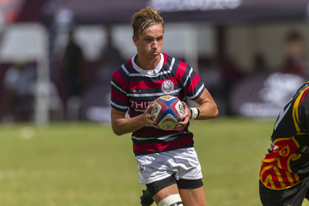 eg: Kearsney rugby festival high schools players teams Maritzburg College v EG Jansen photo action.