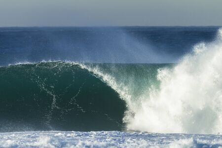 crashing: Wave crashing ocean water power