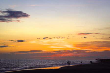 Puerto Vallarta beach sunset