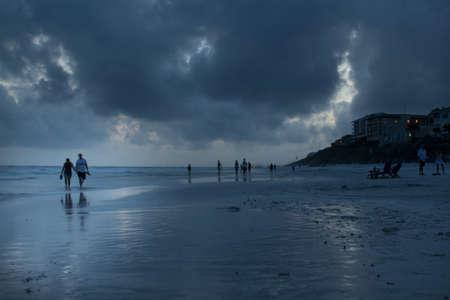 Blue on Blue Mountain Beach Stock fotó - 88293462