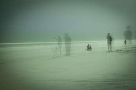 ブルー マウンテン ビーチの幽霊
