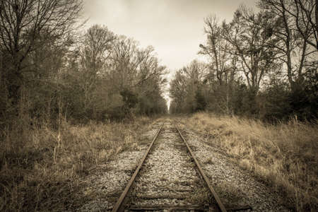 abandoned railroad