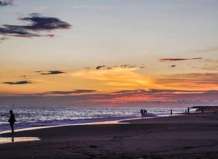 sunset on Puerto Vallarta beach