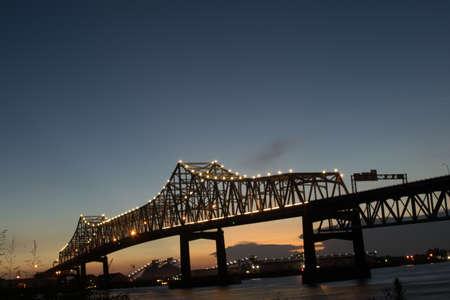 Mississippi River Bridge Baton Rouge