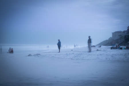 ghosts at Blue Mountain Beach