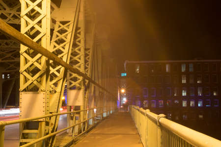 ghosts on Lowell bridge
