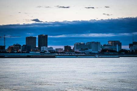Baton Rouge at sunrise