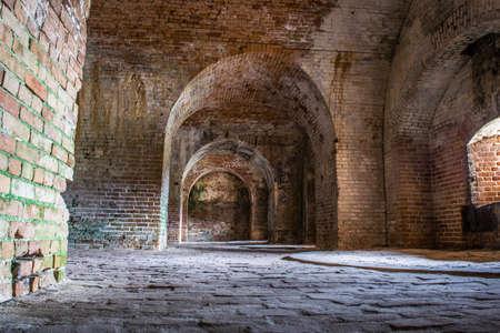 inside Fort Pickens