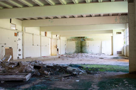 environmental contamination in abandoned school site