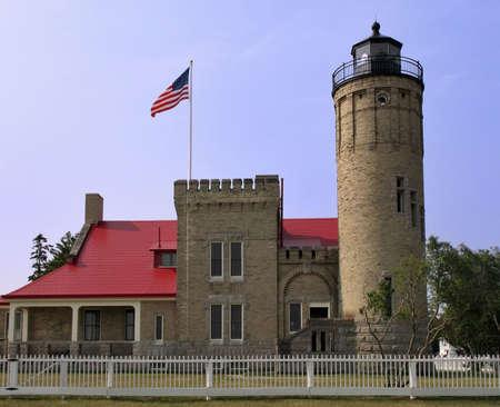 mackinac: Mackinac Point Lighthouse
