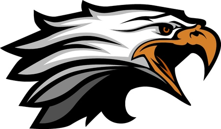 eagle: Mascot Head of an Eagle  Illustration