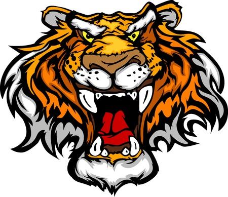 Бенгалия: Мультфильм талисман тигра руководителя