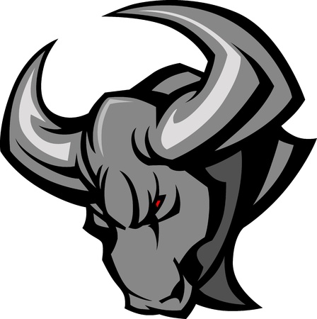 Mascot Bull Illustration Ilustrace
