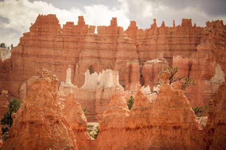 Rock formations at Bryce Canyon National Park, Utah Stock Photo