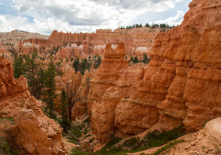 Rock formations at Bryce Canyon National Park, Utah photo
