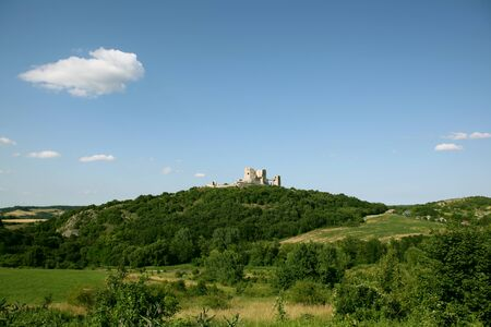 visegrad: Castle of Visegrad Stock Photo
