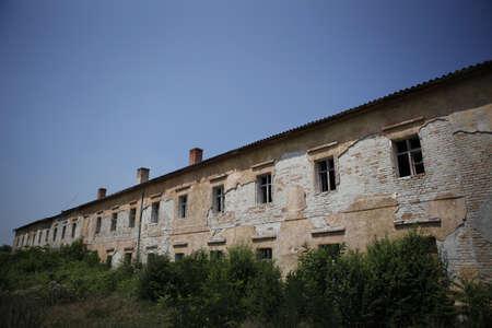 dilapidated: dilapidated buildings