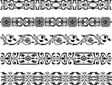 様々 な飾り枠のベクター画像  イラスト・ベクター素材