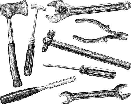 Woodwork and metalwork tool.