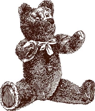 Image of brown teddy bear.