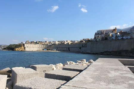 golfo: seaside of Castellamare del Golfo