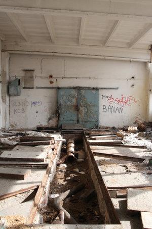 desolation: destroyed building