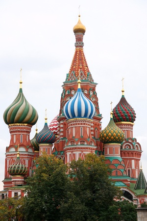 st basil s cathedral: St  Basil s Cathedral on Red Square, Moscow, Russia