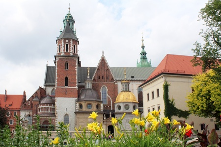Wawel Royal Castle, Krakow Stock Photo