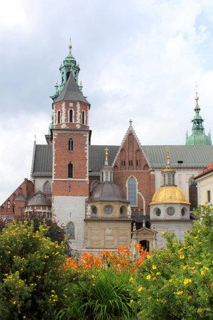 wawel: Wawel Cathedral, Wawel Royal Castle in Krakow