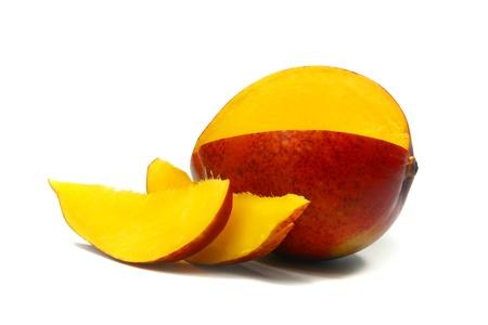 mango: frische Mango Lizenzfreie Bilder