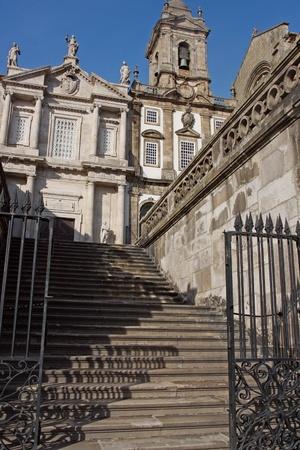 gothic church of Saint Francis Igreja de Sao Francisco Porto, Portugal Stock Photo - 18259367