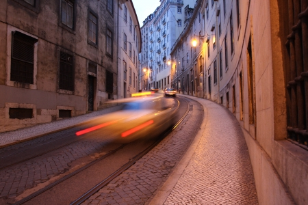Street in Lisbon, Portugal Stock Photo