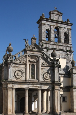 favour: Church of the Lady of the Favour in the city of Evora