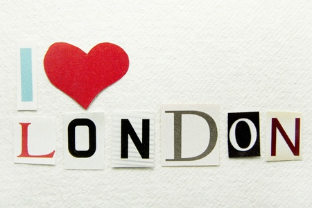i love london sign  photo