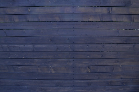 blue wooden wall  photo