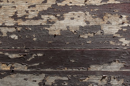 wooden peeling background or texture photo