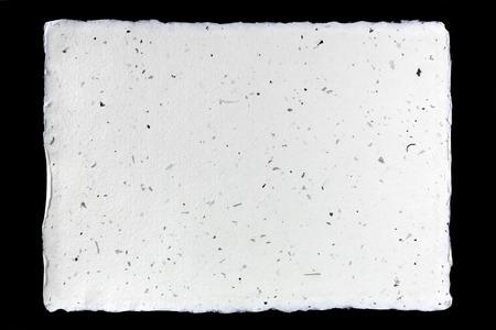 Handmade paper on black  Stock Photo - 23119406