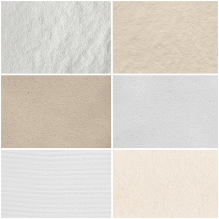 Collection of paper background Stock Photo - 24094253