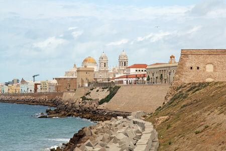 landscape of Cadiz, Spain  photo